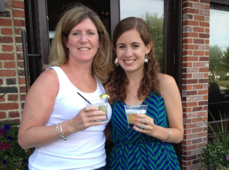 My mom and I in Stone Harbor celebrating her 50th birthday.